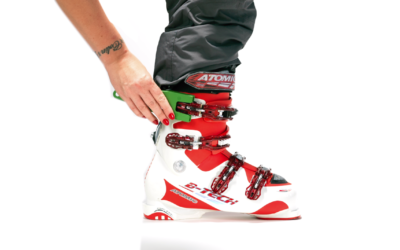 Atomic-Skischoensluiter